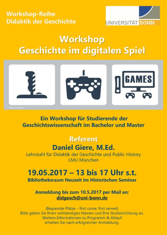 Workshop Digitales Spiel